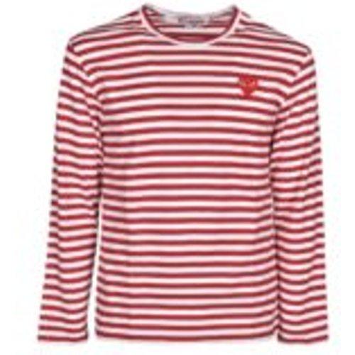T-Shirt - Rouge - Comme des Garçons Play - Modalova