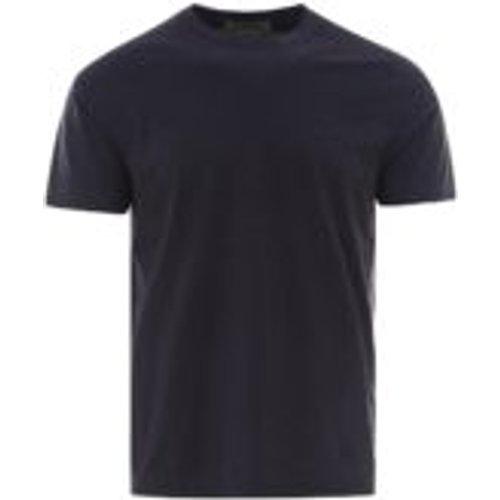 T-Shirt - Bleu Fonce - CORNELIANI - Modalova