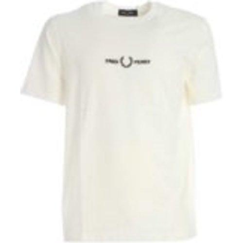 T-Shirt - Creme - Fred Perry - Modalova