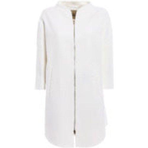 Manteau Au Genou - Blanc - HERNO - Modalova