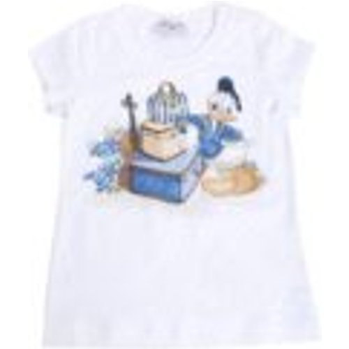T-Shirt - Blanc - Monnalisa - Modalova