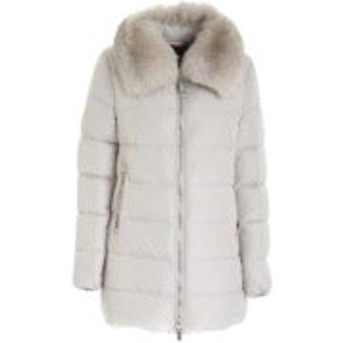 Manteau Rembourre - Blanc - Moorer - Modalova