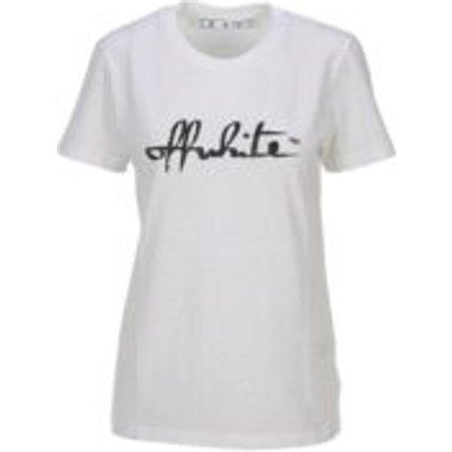 T-Shirt - Script - OFF-WHITE - Modalova