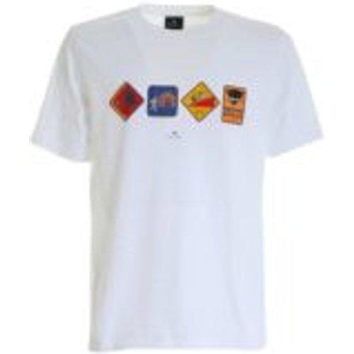 T-Shirt - Avvertimento - PS BY PAUL SMITH - Modalova