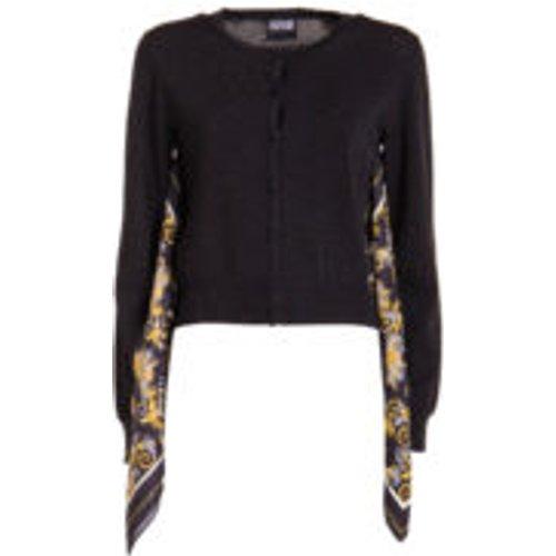 Cardigan - Noir - Versace Jeans Couture - Modalova