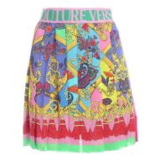 Jupe Midi - Multicolore - Versace Jeans Couture - Modalova