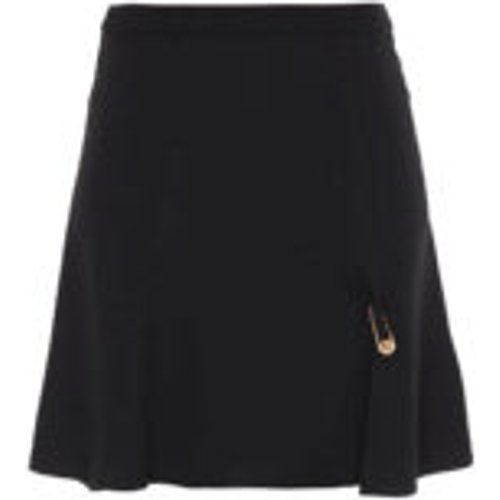 Mini Jupe - Noir - Versace - Modalova