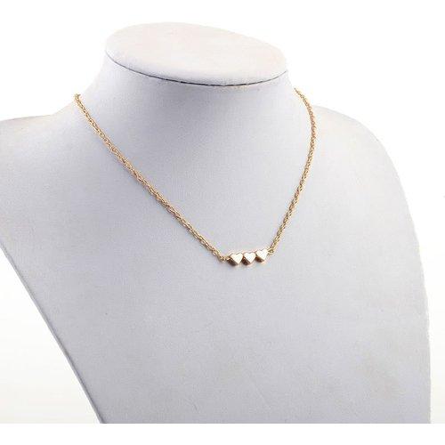 Collier de chaîne détail de cœur - SHEIN - Modalova