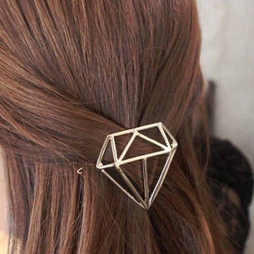 Pince à cheveux en forme de diamant - SHEIN - Modalova