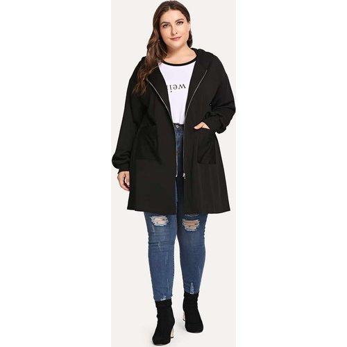 Veste à capuche zippée - SHEIN - Modalova