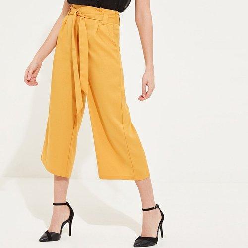 Jupe culotte plissée - SHEIN - Modalova
