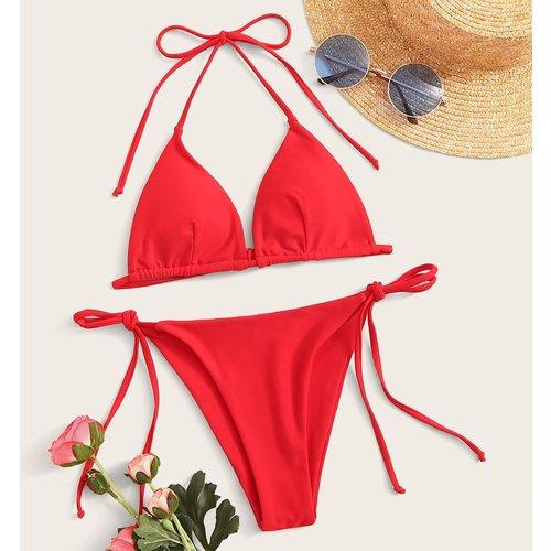 Bikini à nœuds - SHEIN - Modalova