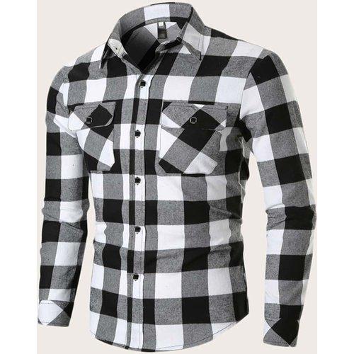 Chemise à carraeux - SHEIN - Modalova