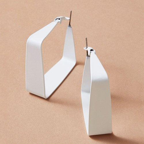 Créoles carrés 1 paire - SHEIN - Modalova