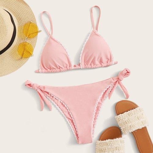 Bikini avec nœud - SHEIN - Modalova