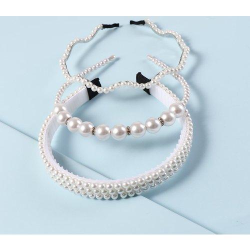 Pièces Bandeau avec fausse perle - SHEIN - Modalova