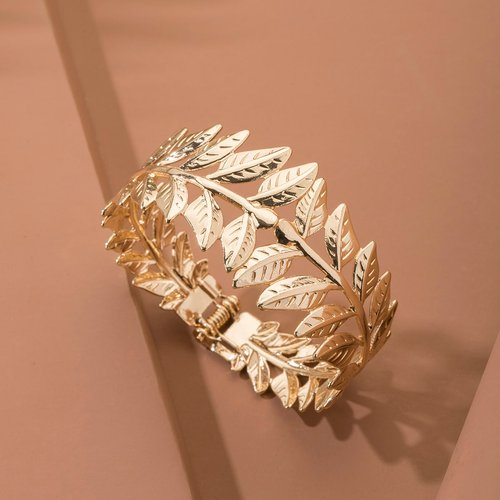 Bracelet à design feuille - SHEIN - Modalova