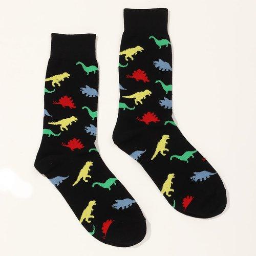 Chaussettes à motif dinosaure - SHEIN - Modalova