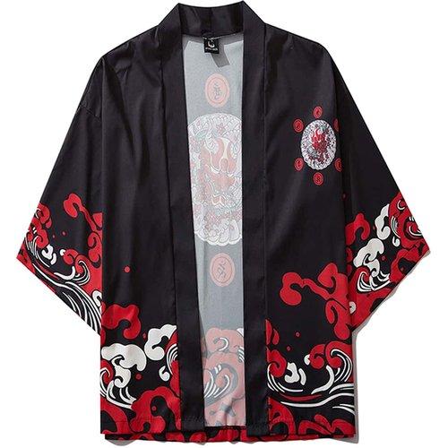 Kimono à imprimé halloween - SHEIN - Modalova