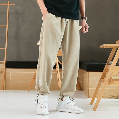 Pantalon de survêtement avec cordon à la taille - SHEIN - Modalova