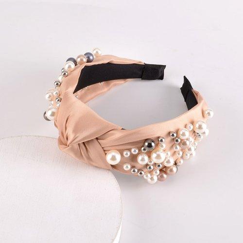 Cerceau de cheveux à perles - SHEIN - Modalova