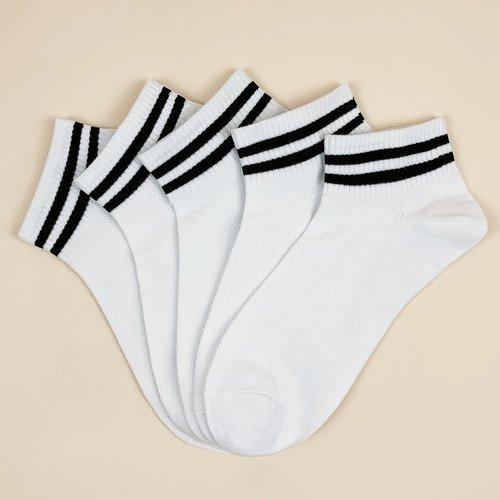 Paires Chaussettes à rayures - SHEIN - Modalova