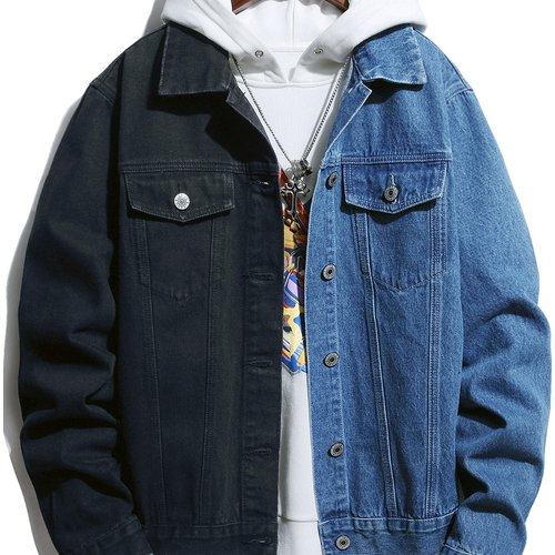 Veste en jean(sans pull à capuche) - SHEIN - Modalova