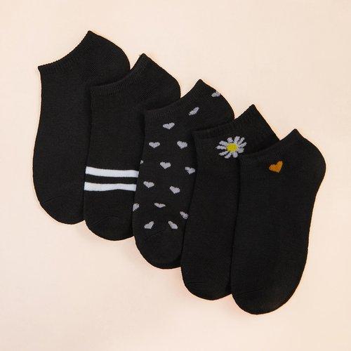 Paires Chaussettes à motif nœud - SHEIN - Modalova