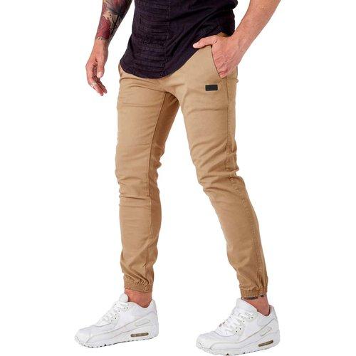 Pantalon avec poches et cordon à la taille - SHEIN - Modalova