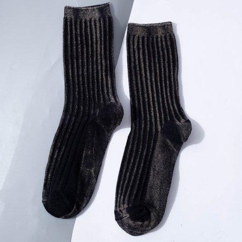 Homme Chaussettes design côtelé - SHEIN - Modalova