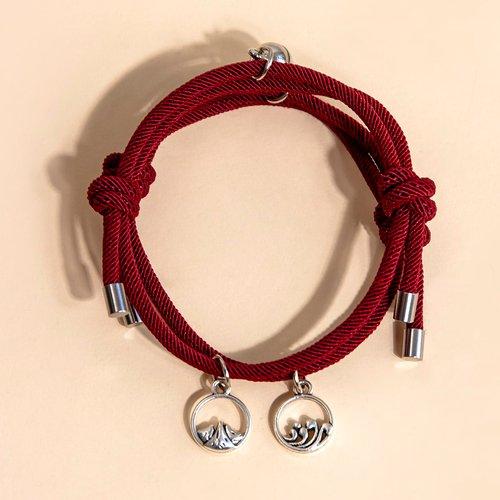Pièces Bracelet de couple à cordon - SHEIN - Modalova