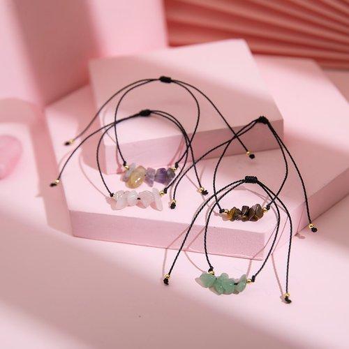 Pièces Bracelet à cordon à pierre - SHEIN - Modalova