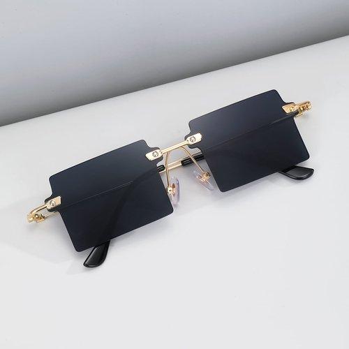 Lunettes carrées sans monture - SHEIN - Modalova