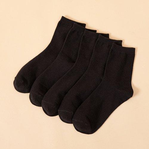 Paires Homme Chaussettes simples - SHEIN - Modalova