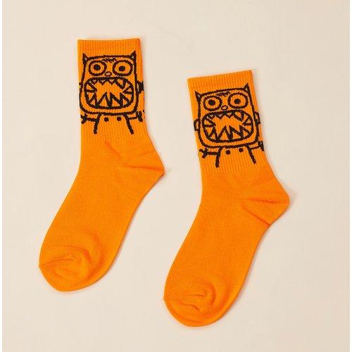Chaussettes à dessin animé - SHEIN - Modalova