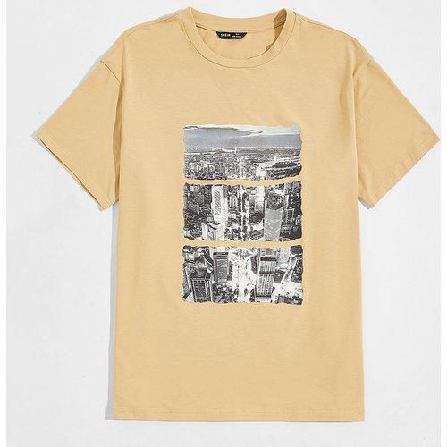 T-shirt avec imprimé - SHEIN - Modalova