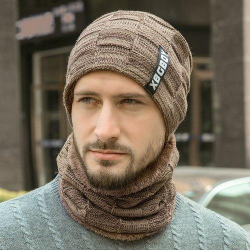 Pièce Chapeau en tricot & Tour de cou - SHEIN - Modalova