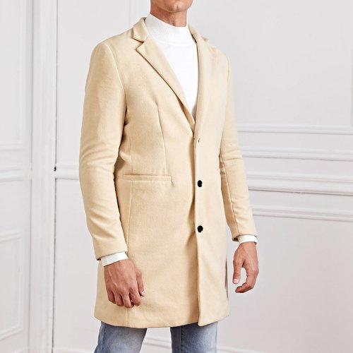 Manteau avec bouton - SHEIN - Modalova