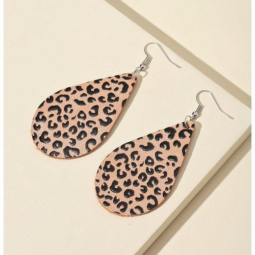 Pendants d'oreilles léopard - SHEIN - Modalova