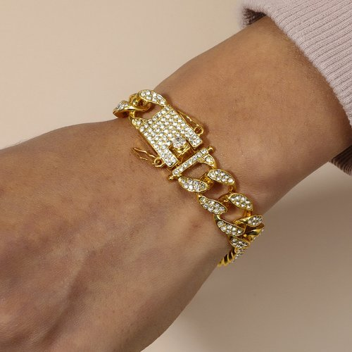 Homme Bracelet avec strass - SHEIN - Modalova