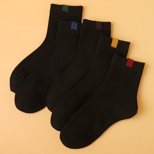Paires Chaussettes avec pièce - SHEIN - Modalova