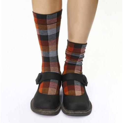 Chaussettes à carreaux - SHEIN - Modalova