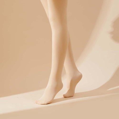 Collant chaud unicolore - SHEIN - Modalova