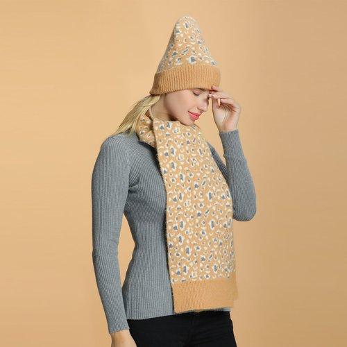 Bonnet en tricot & Écharpe - SHEIN - Modalova