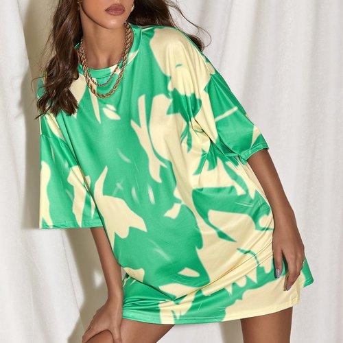 Robe t-shirt tie dye - SHEIN - Modalova