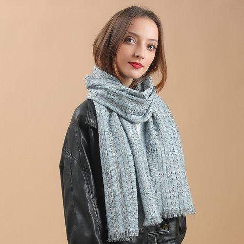 Écharpe à carreaux - SHEIN - Modalova