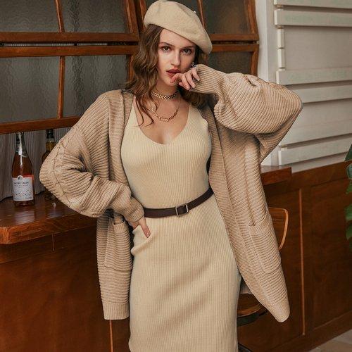Gilet avec poches - SHEIN - Modalova