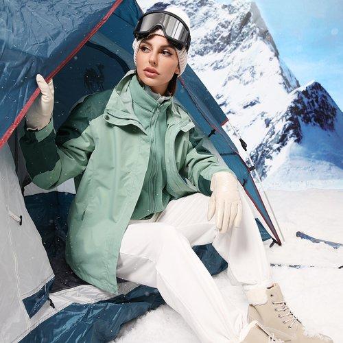 Veste à capuche imperméable avec doublure amovible - SHEIN - Modalova