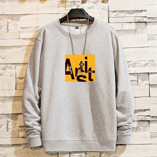 Sweat-shirt à lettres(sans collier) - SHEIN - Modalova