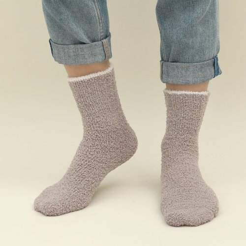 Homme Chaussettes duveteuse - SHEIN - Modalova